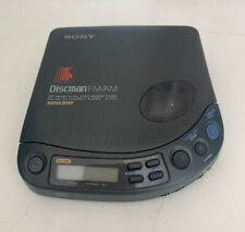 SONY DISCMAN PERSONAL / PORTABLE CD PLAYER D-T115 - Fully Working - GC