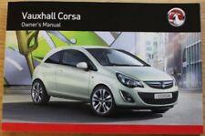 Paper Corsa 2011 Car Owner & Operator Manuals
