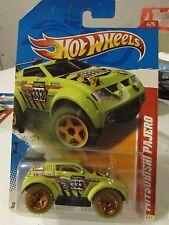 Hot Wheels Mitsubishi Pajero Thrill Racers Green