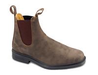 Blundstone Dress Premium Leather Unisex Chelsea Boots Rustic Brown - FINAL SALE
