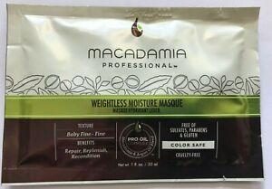 Macadamia Oil Professional Moisture Masque Replenish Hair Protection 30ml