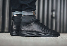 NIKE LUNAR MAGISTA II FK Flyknit Trainers Boots Gym Casual - UK 11 (EU 46) Black