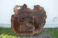 Claro Walnut Slab, Round, Great Color, Coffee Table, Furniture CLASLBS2K