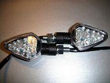2X LED CARBONIO BikeTurn segnale Gilera ICE 50(Gilera 2 tempi),Nexus 125,GFR125