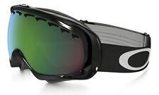 OAKLEY CROWBAR Snow Goggles - Jet Black / Prizm Jade Irid - NIB