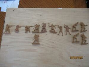 """Barzso Indians """"Attacking"""" """" 10 Poses 13 Figures (Original Figures) 1/32 Scale"""