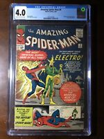 Amazing Spider-Man #9 (1964) - 1st Electro!!! - CGC 4.0!! - Key!!!