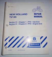 New Holland TV145 Tractor CAB & ENGINE END PTO's Service Repair Shop Manual NH