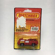 Matchbox Superfast No. 22 - Blaze Buster Fire Engine Truck - New in Packaging