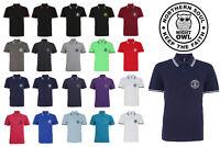 Northern Soul NIGHT OWL Mod Keep The Faith Casual Mens Premium Polo Shirt