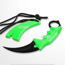 CS Go Counter Strike Doppler Combat Karambit Neck Knife Zombie Claw Fixed Blade