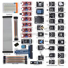 37 in 1 Sensor + 40pin GPIO Board kits for Raspberry Pi 3 / B+ / 2 Model B