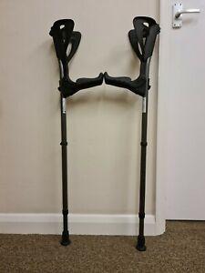 Ergotech Lightweight Forearm Crutches By FDI (Size: 4'4-6'7) 1 Pair/2 Crutches