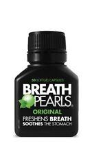 Breath Pearls Original Freshens Breath (50 softgels) Australia import exp 2020