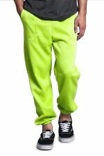 New Men's GYM Workout Basic Elastic Cuff Fleece Sweatpants Small-5xl - HILLSP