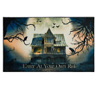 Spooky Enter Gray 2 Ft. 6 In. X 4 Ft. 2 In. Holiday Area Rug 100% Polyester