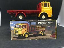 Dinky toys ATLAS N°588 Camion berliet GAK PLATEAU en boite