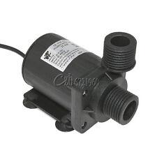800L/H DC 12V 24V Hot Water Circulation Pump Solar Water Pump Brushless Motor