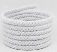 5mm Cotton Rope 8 Strand Braided WhiteTwisted Cord Twine Sash Accessory String