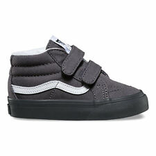 Vans SK8-Mid Reissue V (MONO) ASPHALT Toddlers Shoes New In Box VN0A348JMFN
