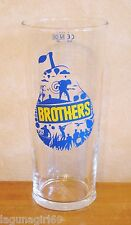 Brothers Pear Cider Festival Beer Pint Glass Pub Home Bar Used