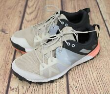 Men's ADIDAS TR8 Kanadia Running Shoes Cloudfoam White Size 8.5 Athletic Shoes