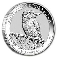 AUSTRALIE 1 Dollar Argent 1 Once Kookaburra 2021 1 Oz silver coin Australia