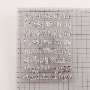 Letter Alphabet Cookie Cutter Embosser Stamp Mold Sea Horse Fondant Baking Tool