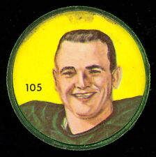 1963 CFL NALLEY'S POTATO FOOTBALL COIN #105 TOMMY JOE COFFEY edmonton eskimos