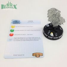 Heroclix Bioshock Infinite set Siren #009 Gravity Feed figure w/card!