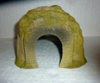 Vintage NOS Flocked Plastic Model Train Layout Tunnel Mountain