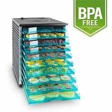Essiccatore essicatoio disidratatore professionale per alimenti 800w 10 ripiani