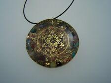 Metatron Amulett Orgon Medallion Orgonit Amulett Anhänger Orgonitanhänger