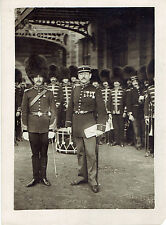 WWI PHOTO ALLIED BAND LEADERS NEWVILLE AND BOURGEOIS IN PARIS, UNDERWOOD PRESS