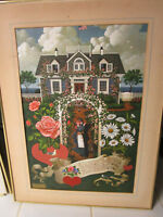 CHARLES WYSOCKI (1928-2002, CA / MI) HOME IS MY SAILOR PRINT - Limited edition