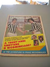 LA GAZZETTA DELLO SPORT ILLUSTRATA - anno 4 - n.43 - 25 ottobre 1980