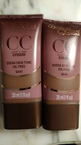 COVERGIRL QUEEN Collection Cover+Care CC Cream Evens Skin Tone-Pick ONE Shade