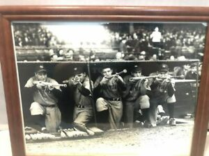 Lou Gehrig & Joe Gordon & Tommy Heinrich & Joe DiMaggio & Bill Dickey - 1938 WS