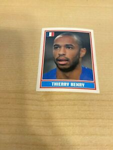 Merlin England 2006 World Cup Thierry Henry #382