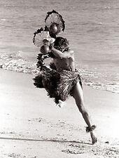"Kim Taylor Reece ""Ka pa Hula"" 11 X 14 Double Matted Hawaiian Hula Print - New"