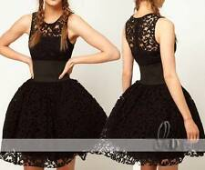 Ball Gown Above Knee, Mini Floral Dresses