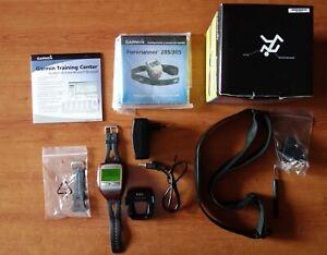 Garmin Forerunner 305 reloj pulsómetro GPS entrenamiento running correr training