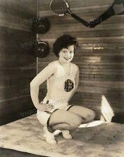 8x10 Print Clara Bow Leggy Exercise Pin Up 1927 by Otto Dyar #CB10