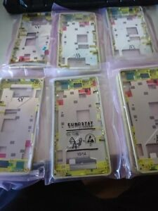 6 units Sony D5503 Xperia Z1 Compact Lime Green Main Frame / Chassis - 1278-5731