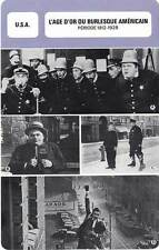 FICHE CINEMA : L'AGE D'OR DU BURLESQUE AMERICAIN 1912-1928 (USA)Arbuckle,Langdon