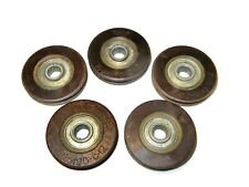LOT OF 5 AIRCRAFT  PULLEYS  pulley 1025180-C-12 pullies