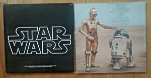 STAR WARS LPs- Soundtrack And Story Of Star Wars