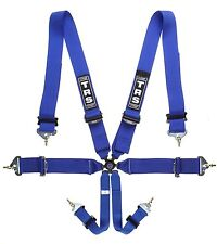 "FIA Approved Blue 6 Point 3x3"" Harness 2018 TRS Magnum Superlite"
