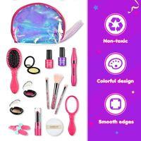 2020 Kids Girls Makeup Set Cosmetics Pretend Play Toy Kit Beauty Set Toys Gift