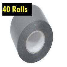 40 Rolls PVC DUCT TAPE 48MM X 30M  SILVER, GREAT QUALITY